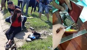 BTL Vùng Cảnh sát biển 2 phối hợp bắt giữ đối tượng mua bán trái phép 100 gam ma túy dạng cỏ Mỹ
