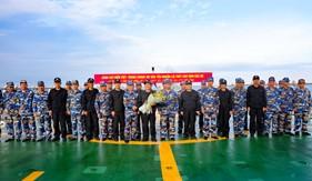Kiểm tra liên hợp Nghề cá Vịnh Bắc bộ Việt Nam - Trung Quốc lần thứ 2 năm 2018