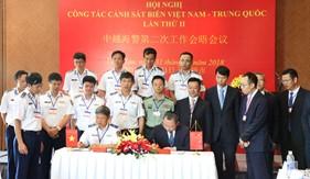 Hợp tác giữa Cảnh sát biển Việt Nam - Cảnh sát biển Trung Quốc: phát triển đúng hướng, thiết thực, hiệu quả