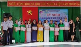 Các đơn vị Bộ Tư lệnh Cảnh sát biển tri ân thầy cô nhân Ngày Nhà giáo Việt Nam