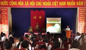 Đoàn Đặc nhiệm PCTP ma túy số 4 tuyên truyền phòng, chống ma túy tại Cà Mau