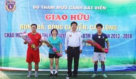Bộ Tham mưu Cảnh sát biển tổ chức hoạt động thể thao chào mừng Đại hội thi đua quyết thắng