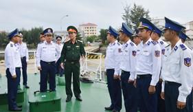 Bộ Quốc phòng kiểm tra công tác quân sự, quốc phòng năm 2018 đối với BTL Vùng Cảnh sát biển 2