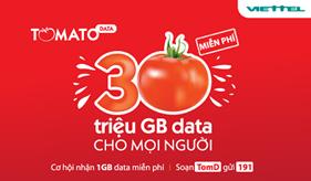 Viettel tặng 30 triệu GB data hướng tới phổ cập Internet di động
