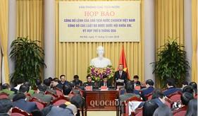 Công bố lệnh của Chủ tịch nước công bố 9 Luật được thông qua tại kỳ họp thứ 6 Quốc hội khóa XIV trong đó có Luật Cảnh sát biển Việt Nam