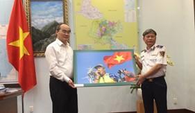 Tư lệnh Cảnh sát biển báo cáo Bí thư Thành ủy TP. Hồ Chí Minh về việc giao đất đóng quân