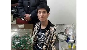 Bộ Tư lệnh Vùng Cảnh sát biển 1 phối hợp đấu tranh triệt phávụ tàng trữ trái phép chất ma túy