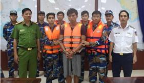 Bộ Tư lệnh Vùng Cảnh sát biển 4 phối hợp bắt giữ tội phạm giết người