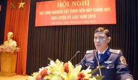 BTL Vùng Cảnh sát biển 1 tổ chức Hội nghị rút kinh nghiệm xây dựng nền nếp chính quy, rèn luyện kỷ luật năm 2018