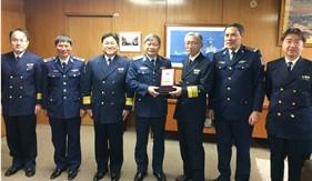 Tư lệnh Cảnh sát biển Việt Nam thăm và làm việc tại Nhật Bản
