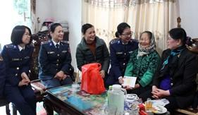 BTL Vùng Cảnh sát biển 1 đẩy mạnh công tác chính sách trong dịp Tết Nguyên đán Kỷ Hợi
