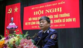 Tư lệnh Cảnh sát biển đối thoại dân chủ với cán bộ, chiến sĩ Cơ quan Bộ Tư lệnh