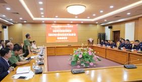 Ủy ban Quốc phòng và An ninh của Quốc hội làm việc với Bộ Tư lệnh Cảnh sát biển