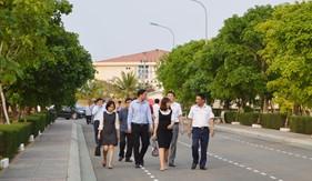 Đoàn công tác Huyện ủy Triệu Sơn thăm, động viên cán bộ chiến sĩ BTL Vùng Cảnh sát biển 2