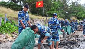 Tuổi trẻ Bộ Tư lệnh Vùng Cảnh sát biển 4 xung kích hưởng ứng Tháng Thanh niên