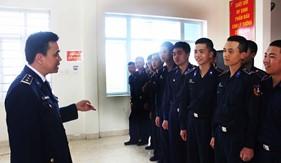 Bộ Tư lệnh Vùng Cảnh sát biển 1 tuyên truyềnnâng cao nhận thức cho chiến sĩ mới