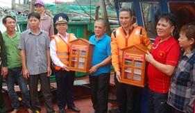 """Mô hình """"Cảnh sát biển đồng hành với ngư dân"""" đã góp phần giữ gìn an ninh trật tự an toàn biển, đảo"""