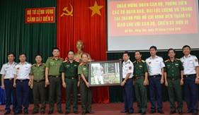 BTL Vùng Cảnh sát biển 3 giao lưu với các cơ quan báo chí khối lực lượng vũ trang tại TP. Hồ Chí Minh