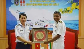 Tàu VIJIT của Lực lượng Bảo vệ bờ biển Ấn Độ thăm Bộ Tư lệnh Vùng Cảnh sát biển 2