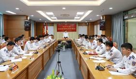 Bộ Tư lệnh Cảnh sát biển giao ban công tác đảng, công tác chính trị quí I năm 2019
