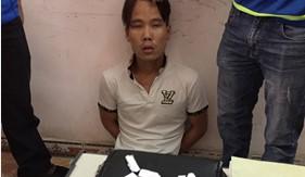 Đoàn Đặc nhiệm Phòng chống tội phạm ma túy số 1 bắt 3 đối tượng mua bán trái phép chất ma túy