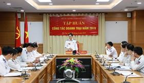 Bộ Tư lệnh Cảnh sát biển tập huấn công tác doanh trại 2019