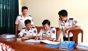 Kiểm tra sau một tháng huấn luyện tại Bộ Tư lệnh Vùng Cảnh sát biển 3