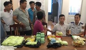 Bộ Tư lệnh Vùng Cảnh sát biển 4 phối hợp đấu tranh triệt phá Chuyên án 119C