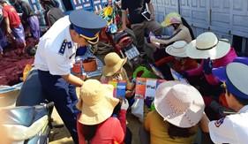 Bộ Tư lệnh Vùng Cảnh sát biển 2 tuyên truyền phòng chống ma túy tại Huyện đảo Lý Sơn