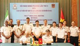 Hội nghị song phương lần thứ 3 giữa Cảnh sát biển Việt Nam và Lực lượng Bảo vệ bờ biển Ấn Độ