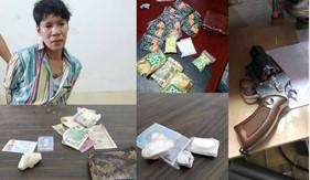 Đoàn Đặc nhiệm PCTP ma túy số 1 bắt 04 đối tượng ma túy, thu giữ nhiều loại ma túy và tang vật có liên quan