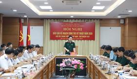 Chủ nhiệm Tổng cục Kỹ thuật Bộ Quốc phòng thăm và làm việc với Bộ Tư lệnh Cảnh sát biển