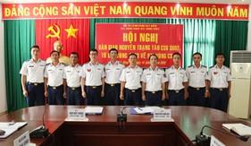 Bộ Tư lệnh Vùng Cảnh sát biển 3 bàn giao nguyên trạng tàu CSB 3002 cho Bộ Tư lệnh Vùng Cảnh sát biển 4