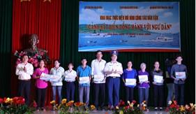 BTL Vùng Cảnh sát biển 3 đồng hành cùng ngư dân huyện đảo Côn Đảo