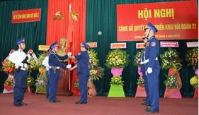 Bộ Tư lệnh Vùng Cảnh sát biển 2 công bố Quyết định triển khai Hải đoàn 21