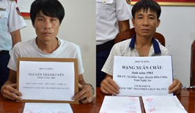 Đoàn Đặc nhiệm PCTP ma túy số 2 khởi tố 2 vụ án về ma túy