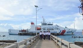 Tàu CSB 8004 kết thúc tốt đẹp chuyến thực hiện nhiệm vụ  tại quần đảo Trường Sa và Nhà giàn DK1