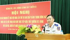 Đảng ủy Vùng Cảnh sát biển 3 thông báo nhanh kết quả Hội nghị lần thứ 10 Ban Chấp hành Trung ương Đảng Khóa XII