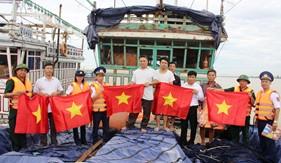 """Đoàn Đặc nhiệm PCTP ma túy số 1 quyết tâm ngăn chặn """"mầm độc"""", giữ bình yên tuyến biển"""