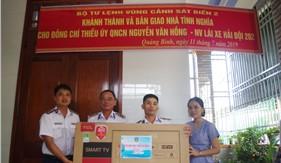 Bộ Tư lệnh Vùng Cảnh sát biển 2 tổ chức khánh thành và bàn giao nhà tình nghĩa