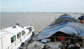 Bộ Tư lệnh Vùng Cảnh sát biển 1 tạm giữ 2.000 tấn than không rõ nguồn gốc