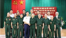 Cơ quan Bộ Tư lệnh Cảnh sát biển tổ chức các hoạt động đền ơn, đáp nghĩa