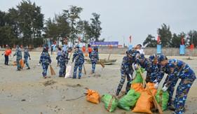 Bộ Tư lệnh Vùng Cảnh sát biển 1 chung tay bảo vệ môi trường biển và hải đảo
