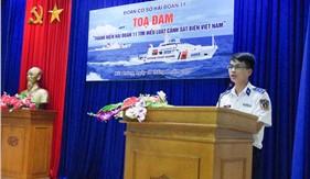 Tuổi trẻ Hải đoàn 11 tọa đàm tìm hiểu về Luật Cảnh sát biển Việt Nam