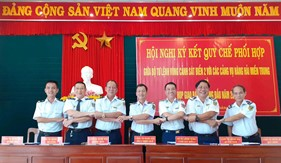 Tăng cường công tác phối hợp giữa Bộ Tư lệnh Vùng Cảnh sát biển 2 với Cảng vụ Hàng hải các tỉnh miền Trung