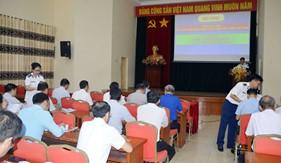 Bộ Tư lệnh Vùng Cảnh sát biển 1 phối hợp tuyên truyền Luật Cảnh sát biển Việt Nam cho cán bộ chủ chốt thành phố Hải Phòng