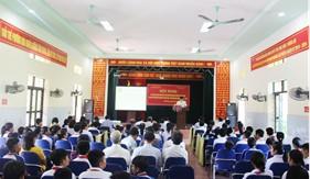 Đoàn Đặc nhiệm PCTP ma túy số 1 tuyên truyền tại quận Dương Kinh, TP. Hải Phòng