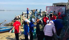 """Hải đoàn 21 tổ chức """"Ngày Chủ nhật xanh - Thanh niên hành động chống rác thải nhựa"""""""