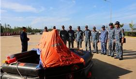 Bộ Tư lệnh Vùng Cảnh sát biển 2 tập huấn phòng chống cháy nổ, cứu hộ cứu nạn