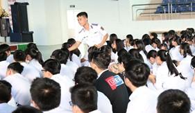 BTL Vùng Cảnh sát biển 3 đẩy mạnh công tác tuyên truyền pháp luật về phòng chống tội phạm ma túy học đường